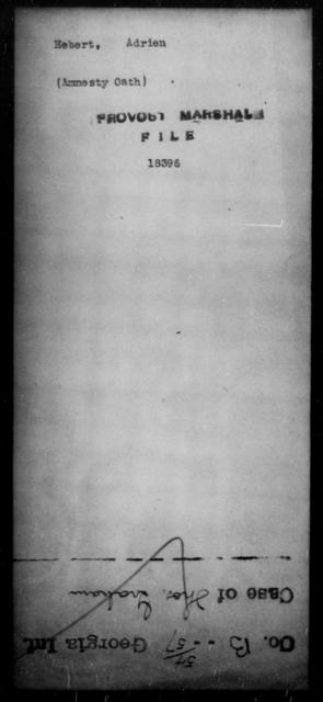 Hebert, Adrien - State: [Blank] - Year: [Blank]