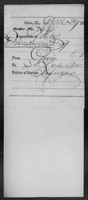 Henderson, [Blank] - State: Illinois - Year: 1864