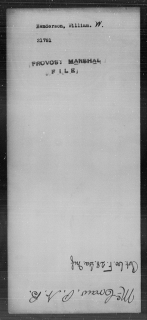 Henderson, William W - State: [Blank] - Year: [Blank]