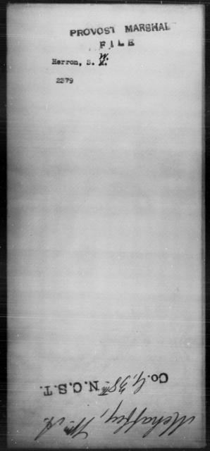 Herron, S W - State: [Blank] - Year: [Blank]