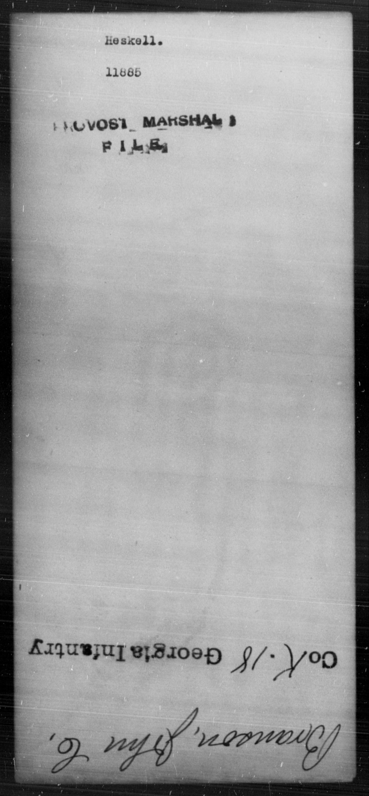 Heskell, [Blank] - State: [Blank] - Year: [Blank]