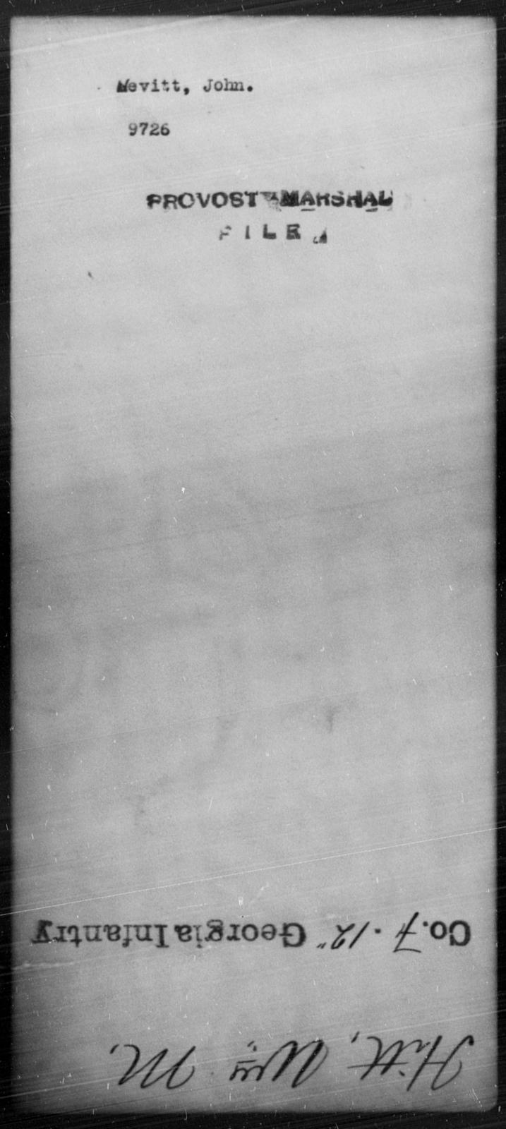 Hevitt, John - State: [Blank] - Year: [Blank]