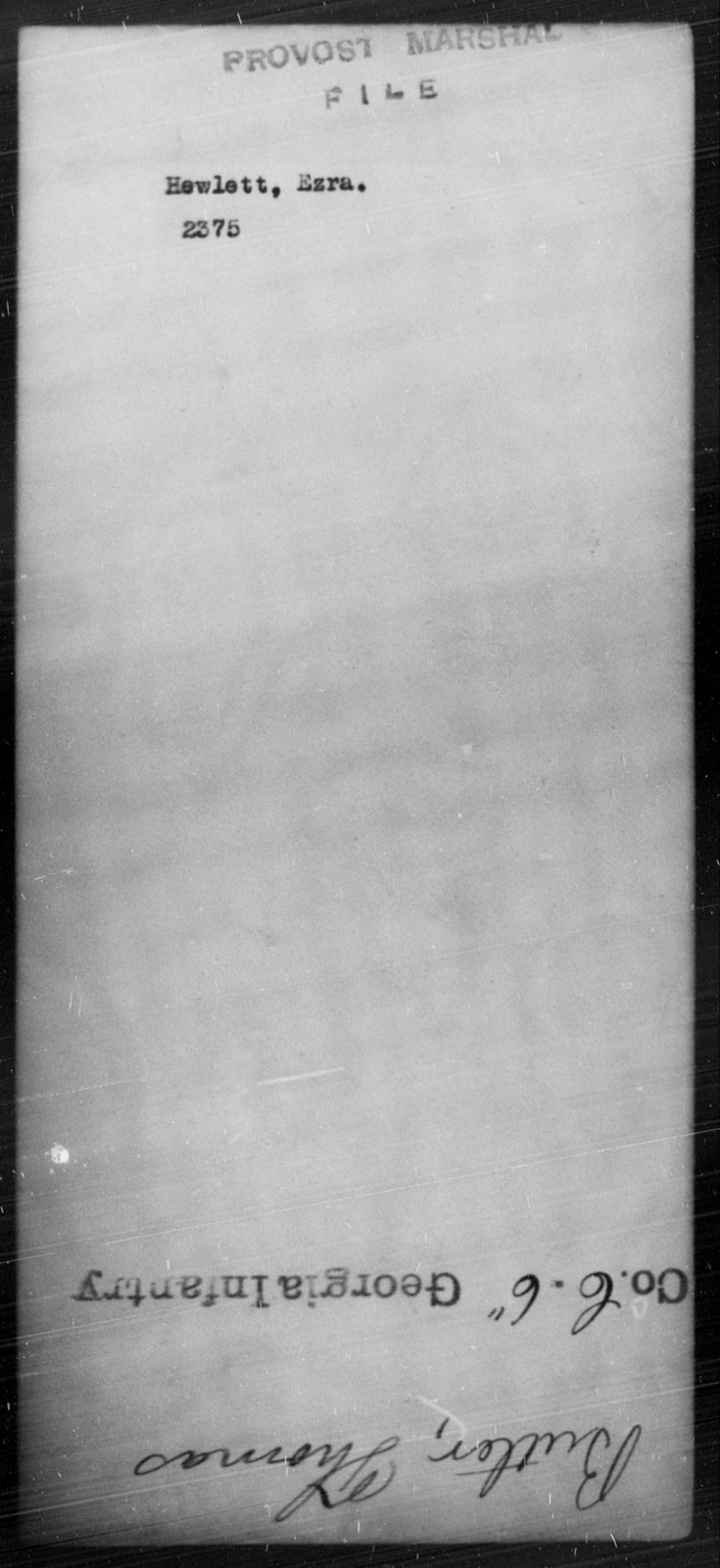 Hewlett, Ezra - State: [Blank] - Year: [Blank]