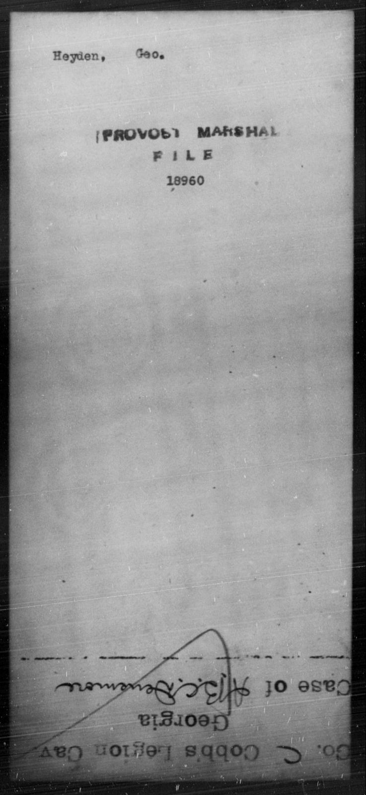 Heyden, Geo - State: [Blank] - Year: [Blank]