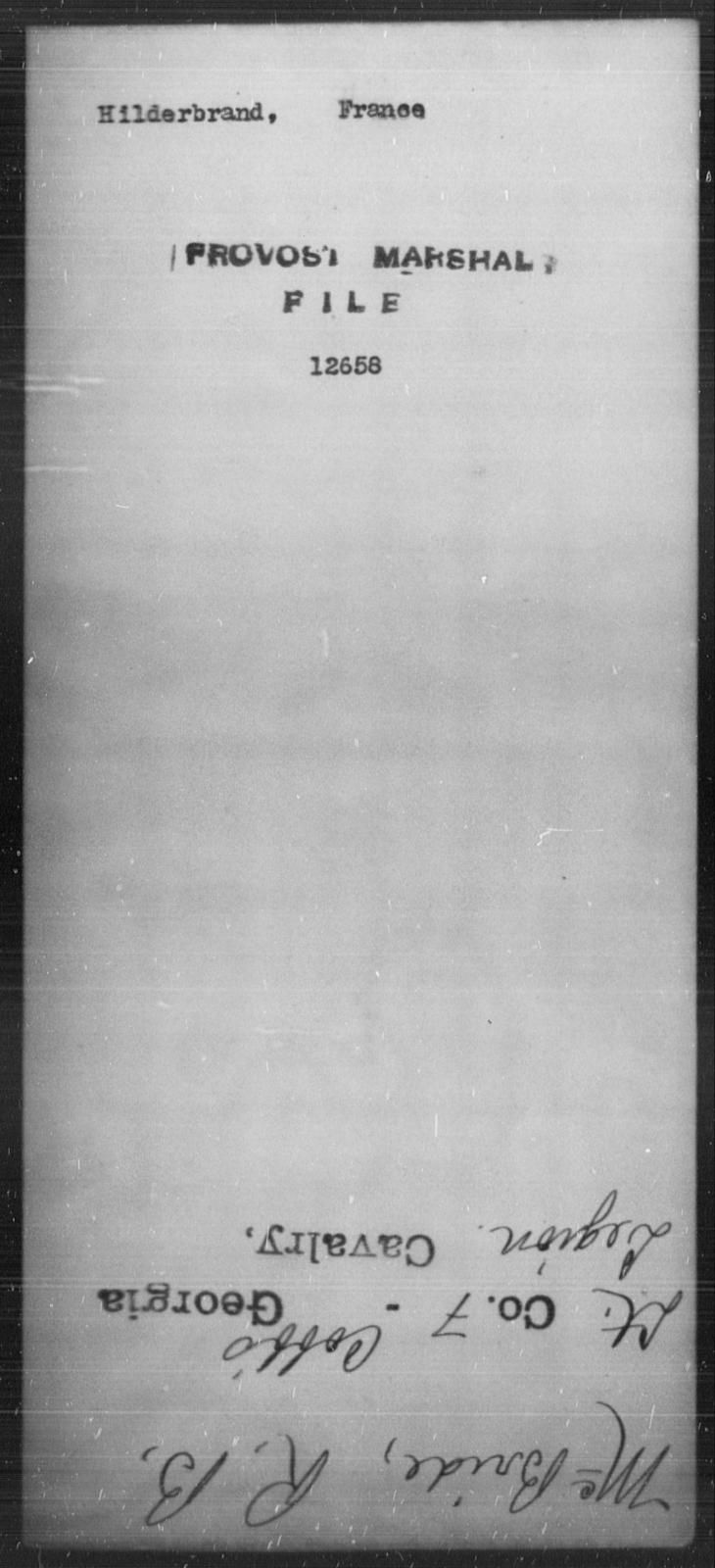Hilderbrand, France - State: [Blank] - Year: [Blank]