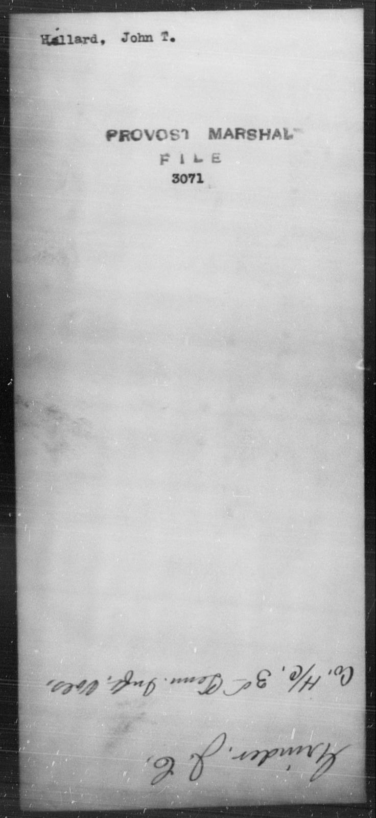 Hill, John T - State: [Blank] - Year: [Blank]
