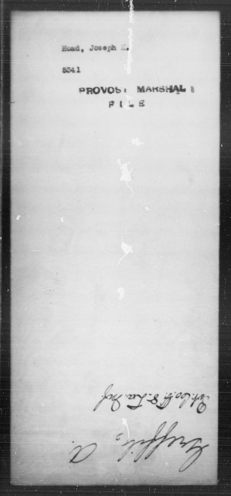 Hoad, Joseph K - State: [Blank] - Year: [Blank]