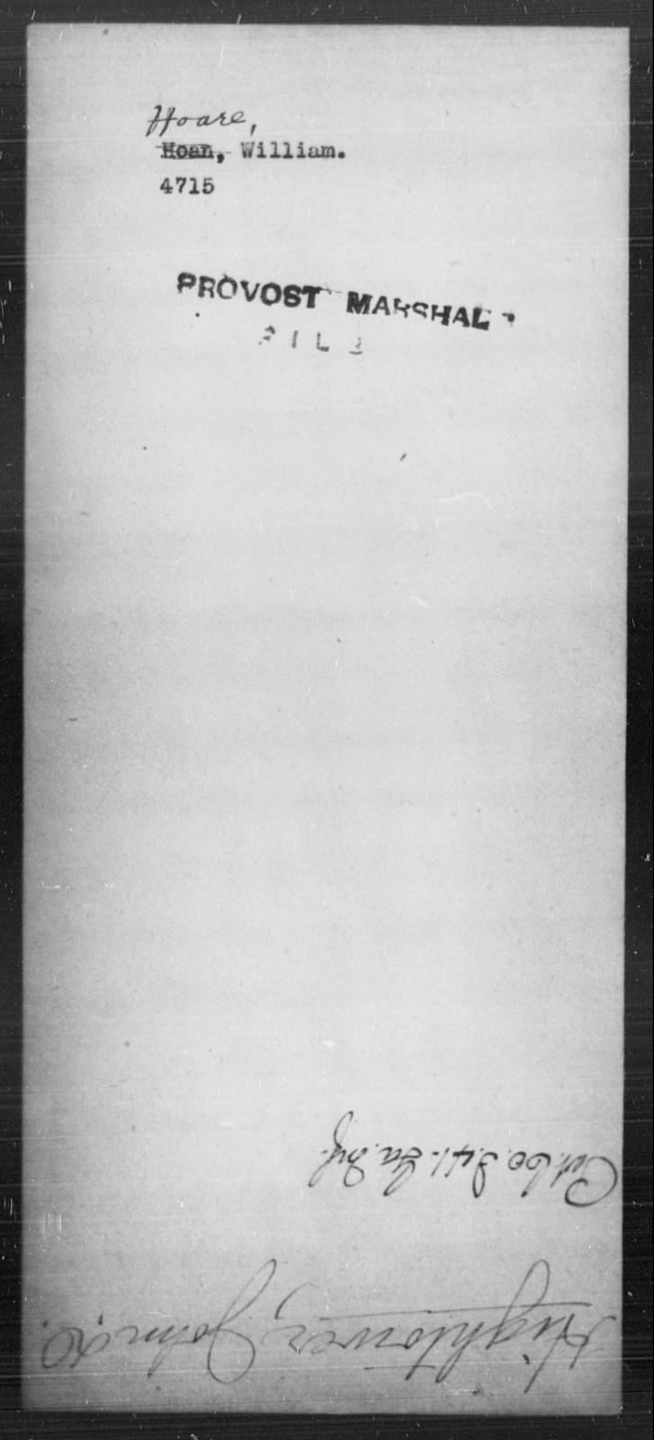 Hoare, William - State: [Blank] - Year: [Blank]