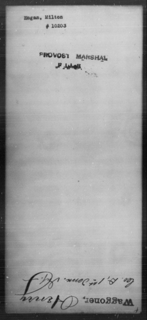Hogan, Milton - State: [Blank] - Year: [Blank]