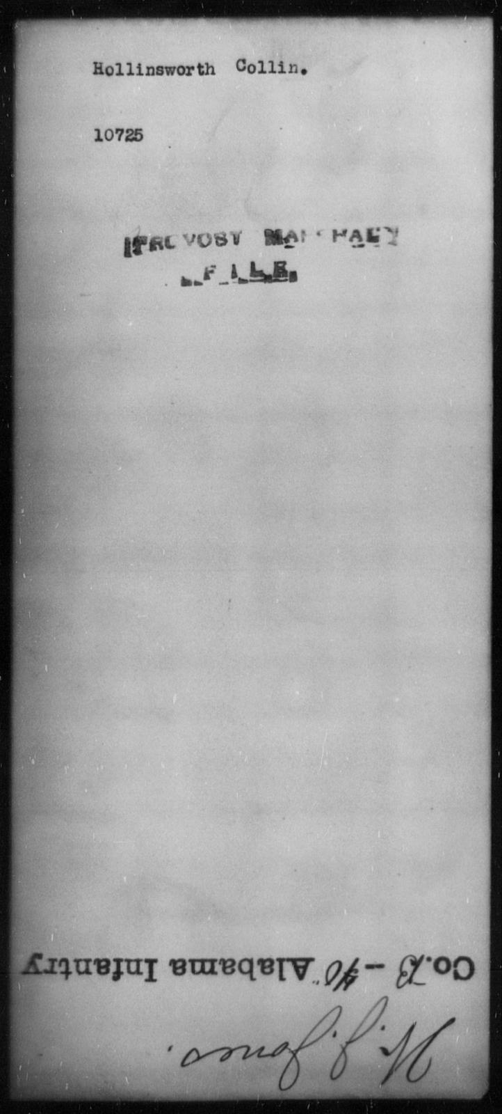 Hollinsworth, Collin - State: [Blank] - Year: [Blank]
