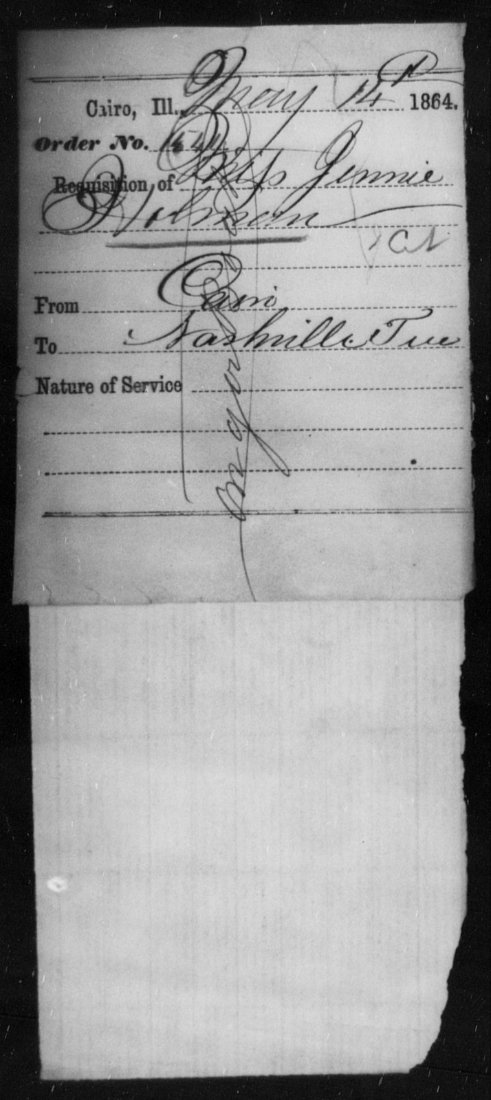 Holman, Jennie - State: Illinois - Year: 1864