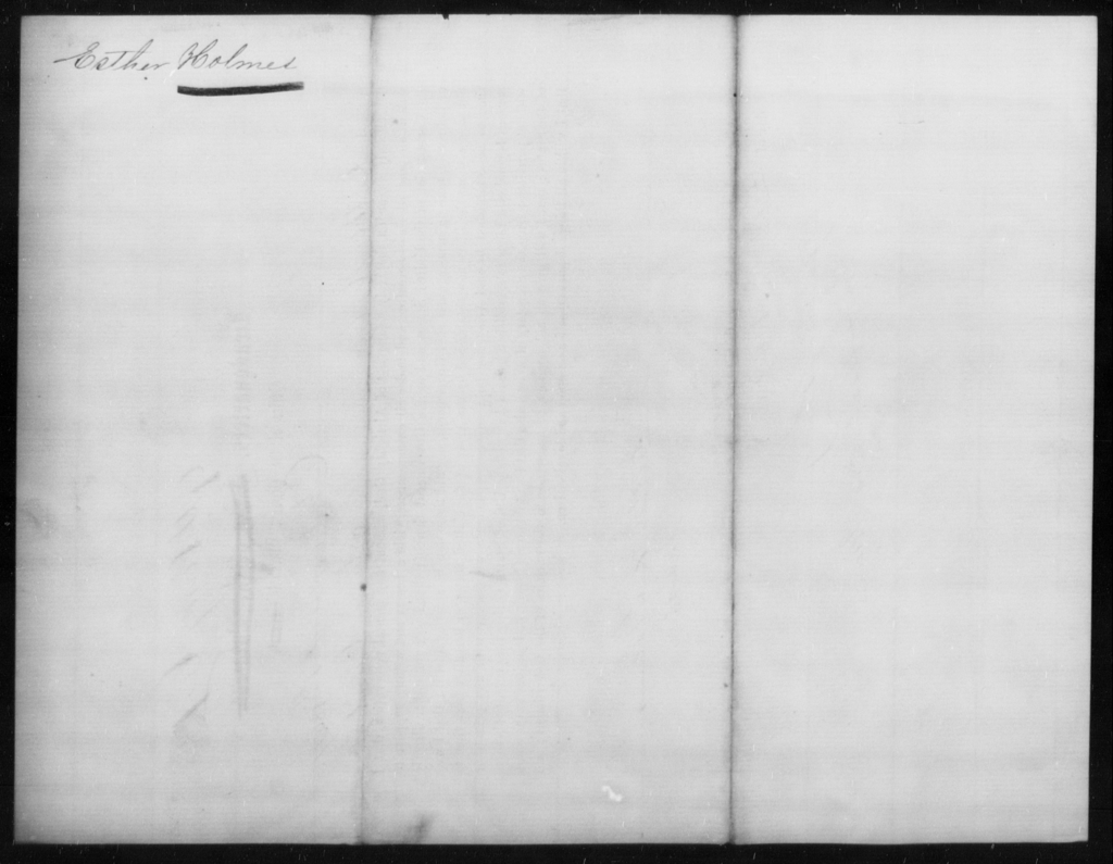Holmes, Esther - State: Kentucky - Year: 1864