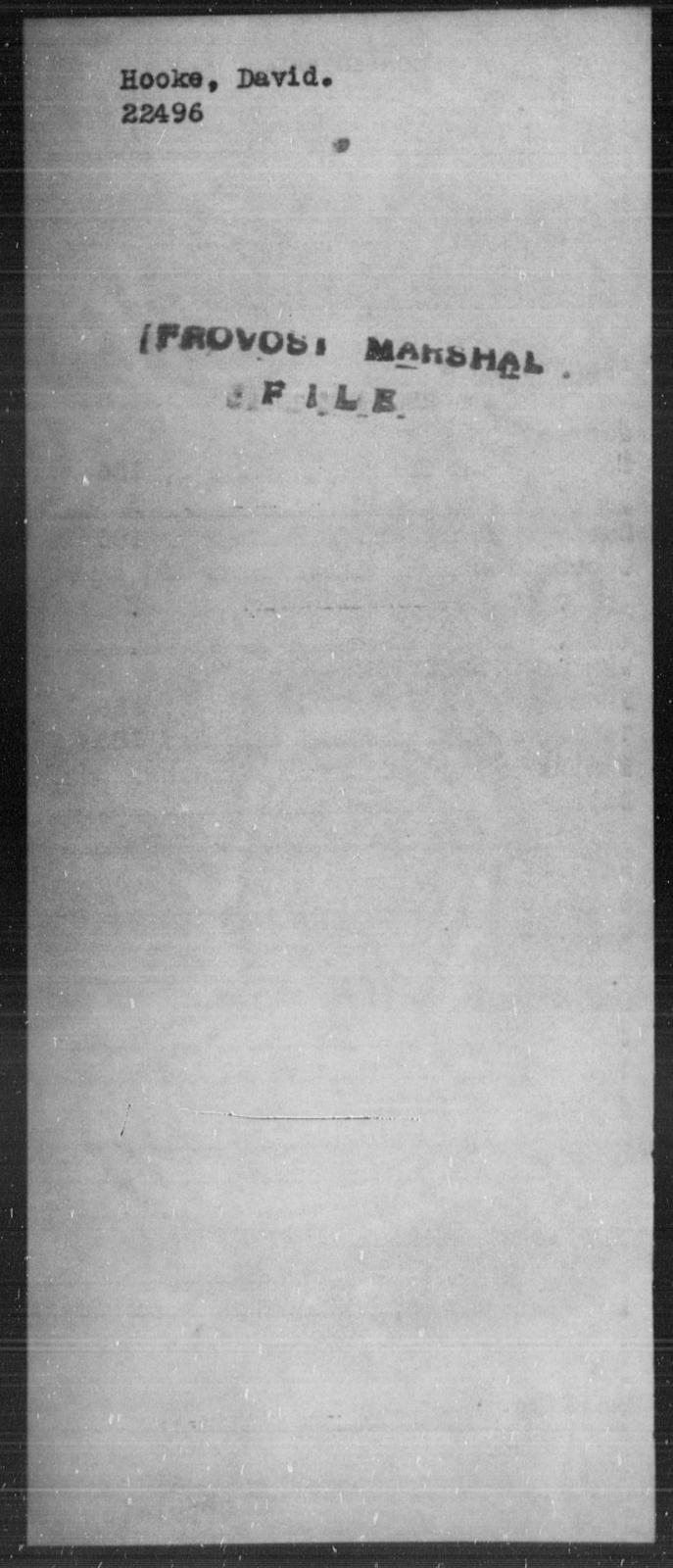 Hooke, David - State: [Blank] - Year: [Blank]