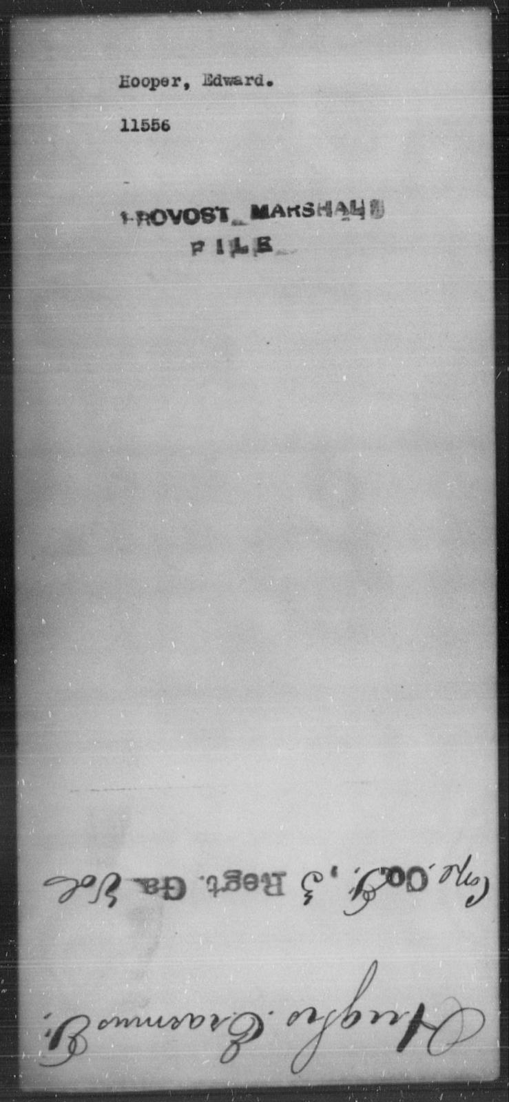 Hooper, Edward - State: [Blank] - Year: [Blank]