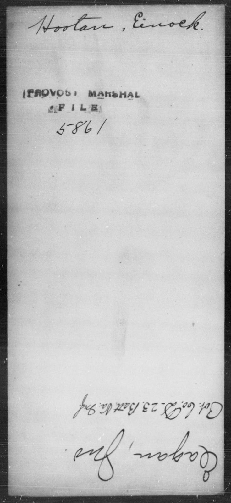 Hootan, Enock - State: [Blank] - Year: [Blank]