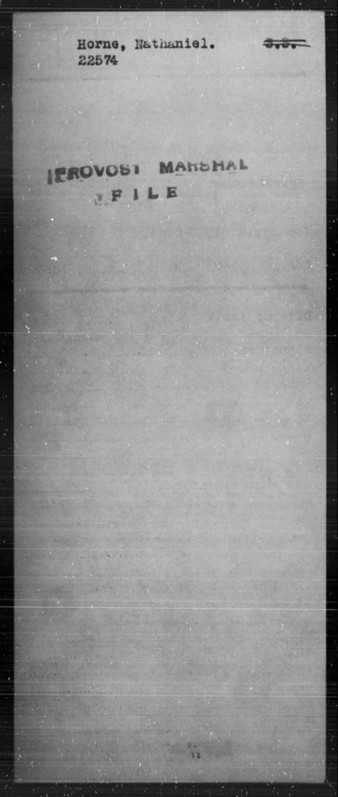 Horne, Nathaniel - State: [Blank] - Year: [Blank]
