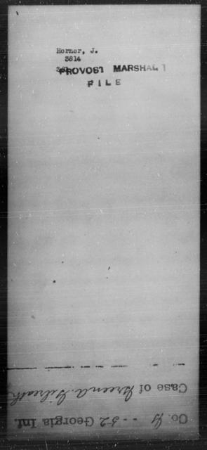 Horner, J - State: [Blank] - Year: [Blank]