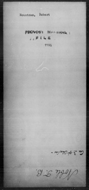 Houstnan, Robert - State: [Blank] - Year: [Blank]