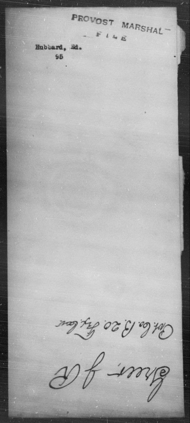 Hubbard, Ed - State: [Blank] - Year: [Blank]