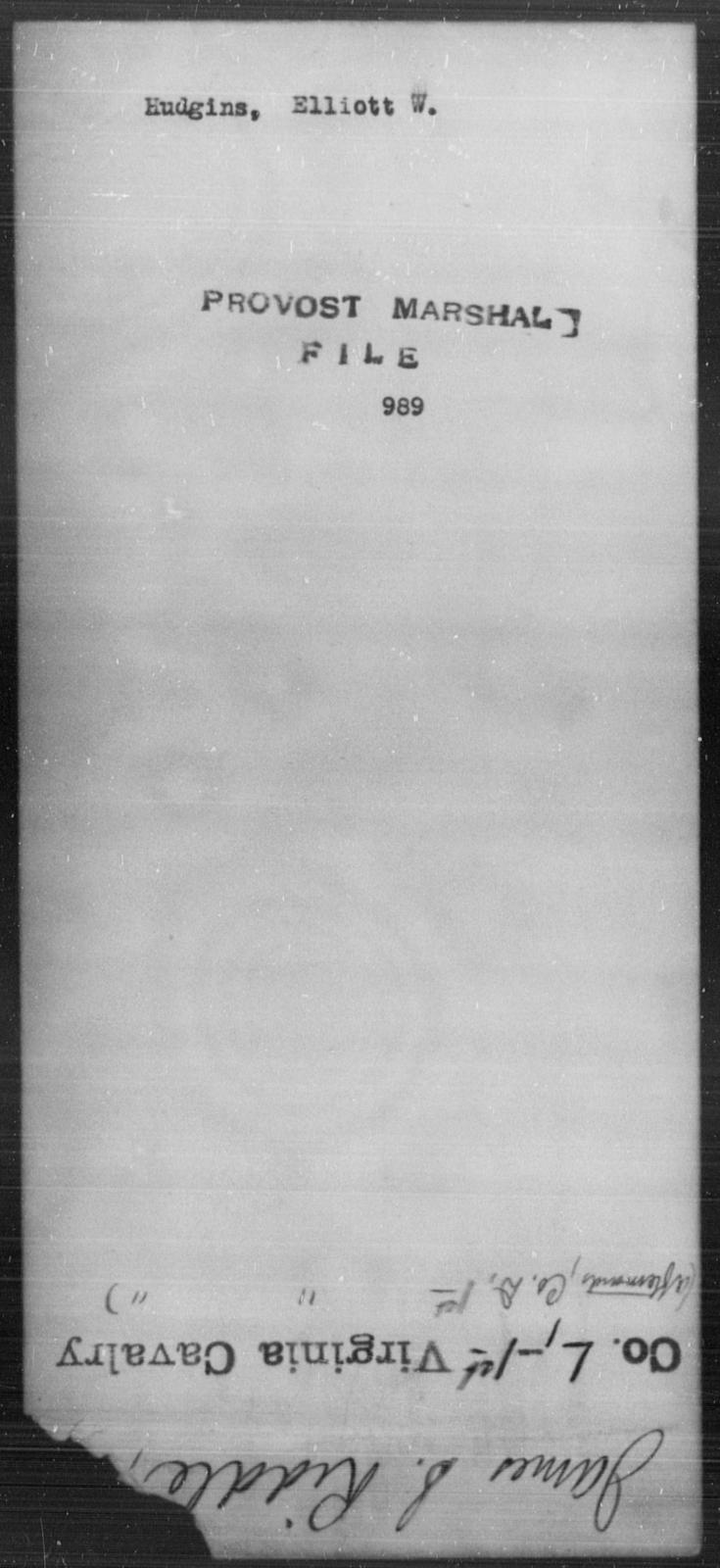 Hudgins, Elliott W - State: [Blank] - Year: [Blank]