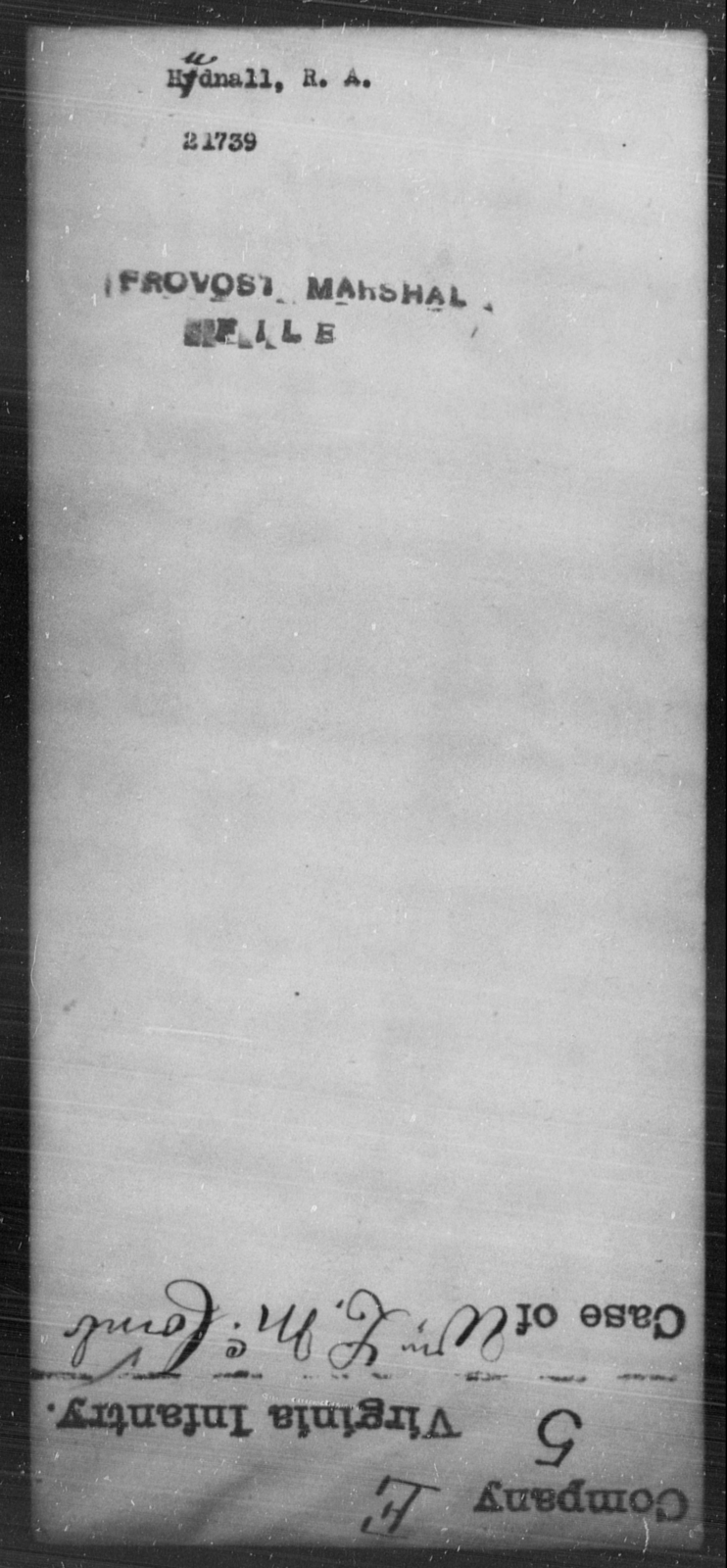Hudnall, R A - State: [Blank] - Year: [Blank]