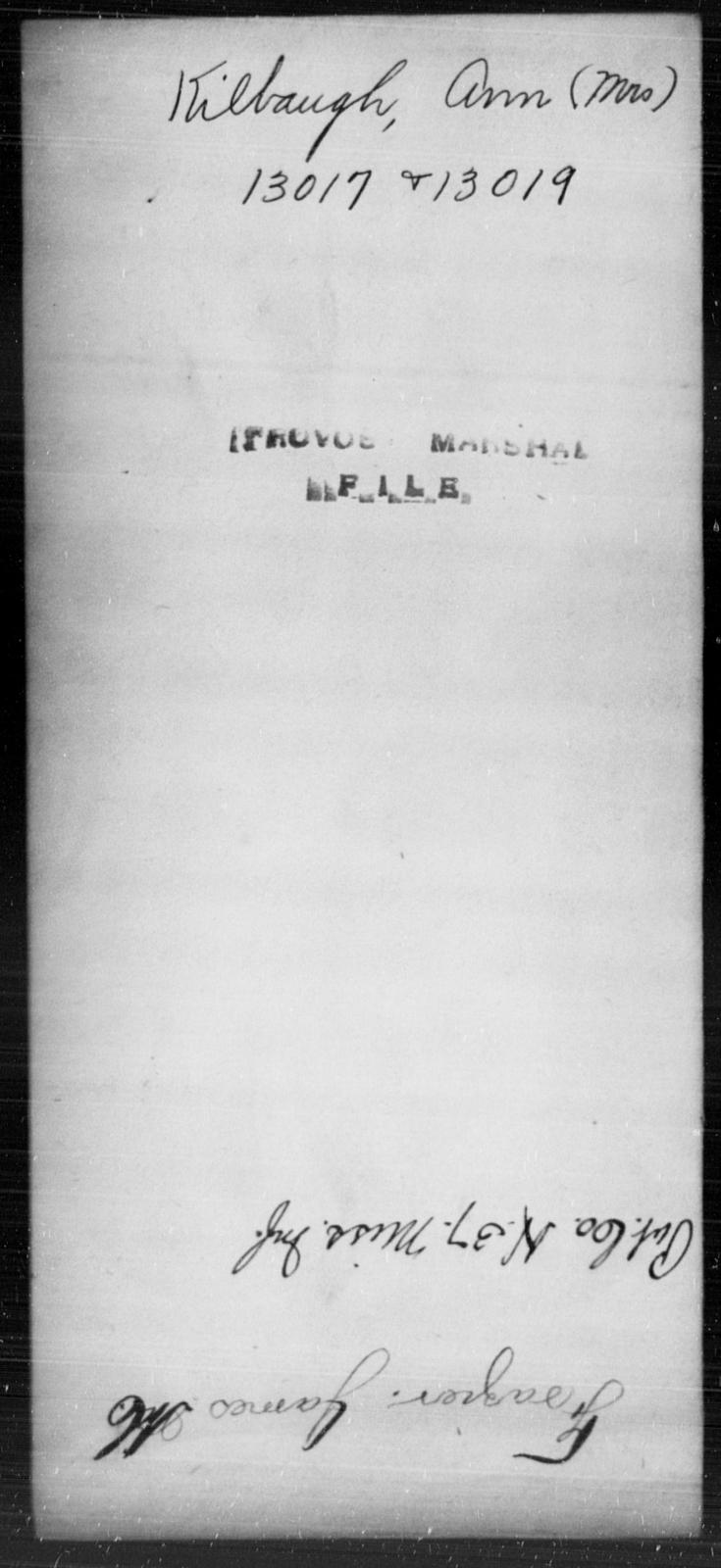Kilbaugh, Ann - State: [Blank] - Year: [Blank]
