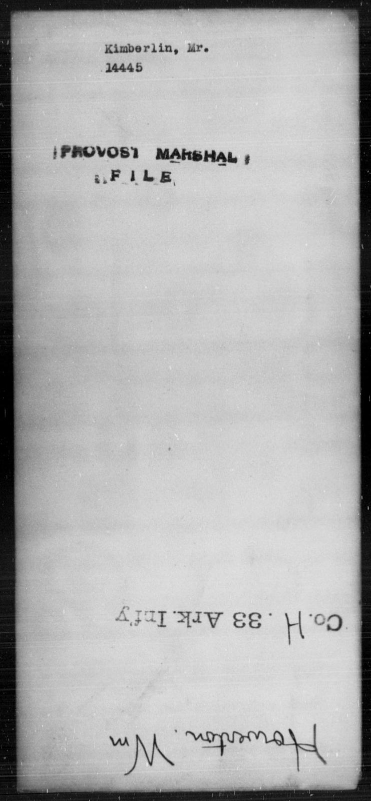 Kimberlin, [Blank] - State: [Blank] - Year: [Blank]