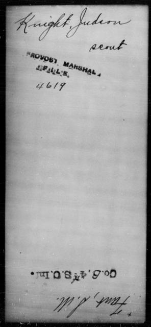 Knight, Judson - State: [Blank] - Year: [Blank]