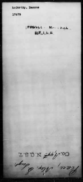 McCarthy, Dannus - State: [Blank] - Year: [Blank]