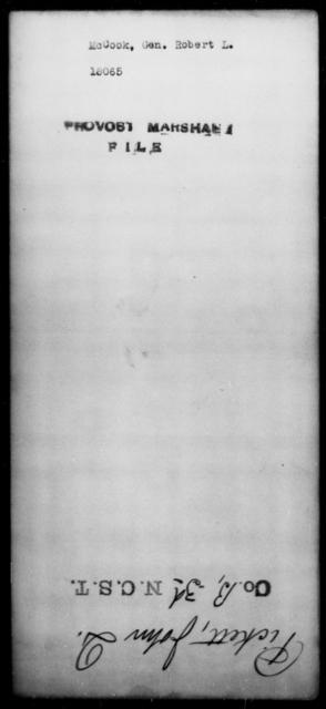 McCook, Robert L - State: [Blank] - Year: [Blank]