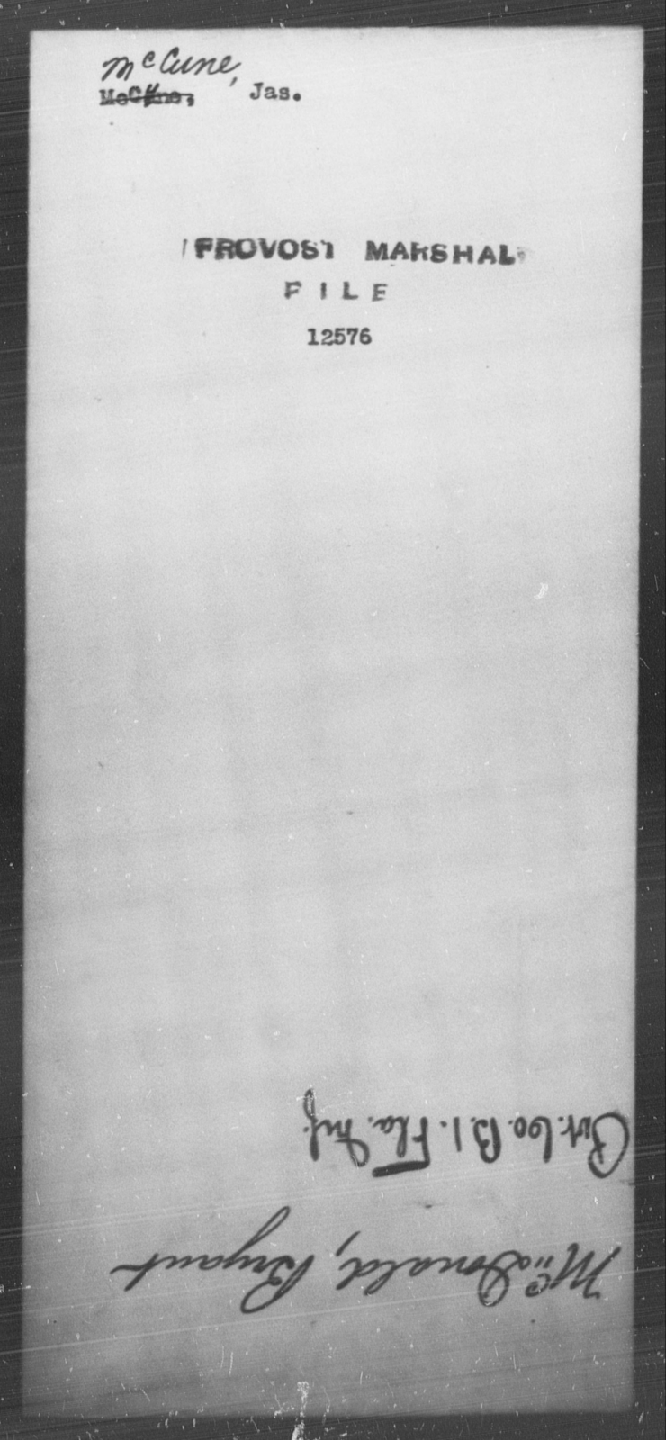 McCune, Jas - State: [Blank] - Year: [Blank]