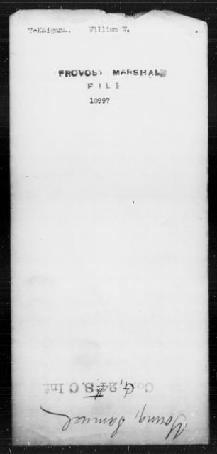 McKaigana, William W - State: [Blank] - Year: [Blank]
