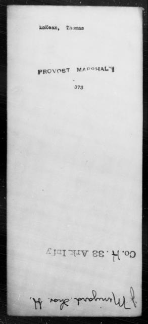 McKean, Thomas - State: [Blank] - Year: [Blank]