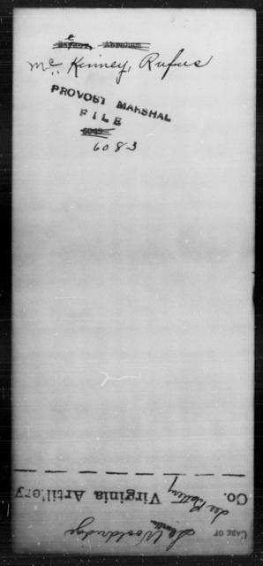 McKinney, Rufus - State: [Blank] - Year: [Blank]