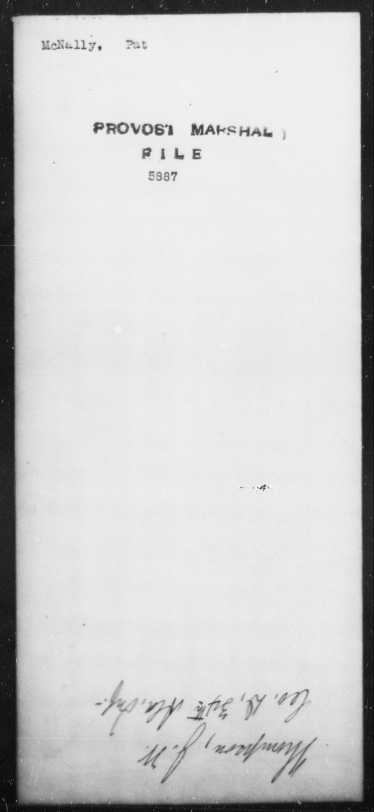 McNally, Pat - State: [Blank] - Year: [Blank]
