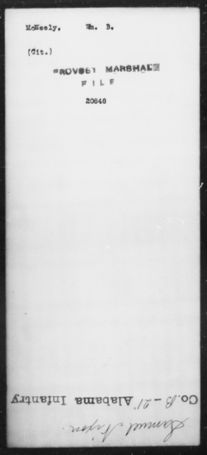 McNeely, Wm B - State: [Blank] - Year: [Blank]