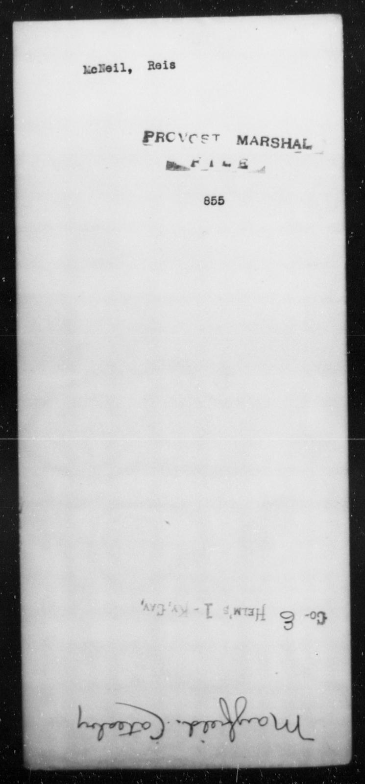 McNeil, Reis - State: [Blank] - Year: [Blank]