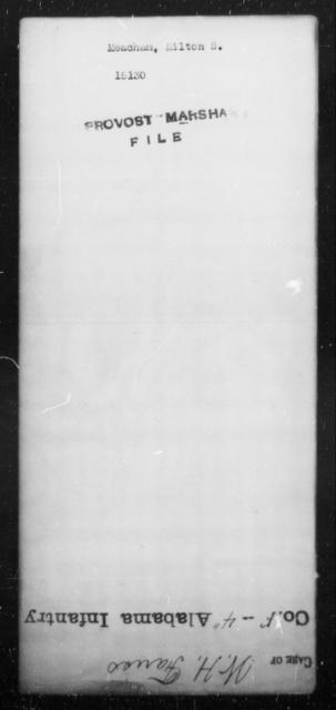 Meacham, Milton S - State: [Blank] - Year: [Blank]