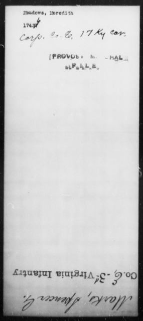 Meadows, Meredith - State: Kentucky - Year: [Blank]