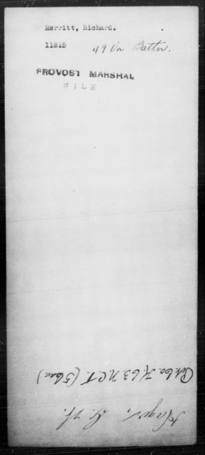Merritt, Richard - State: Virginia - Year: [Blank]