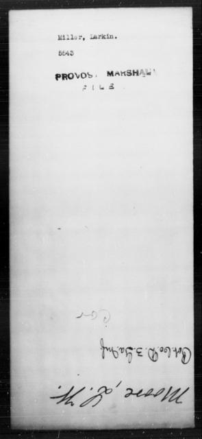 Miller, Larkin - State: [Blank] - Year: [Blank]