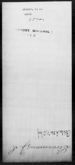 Miller, T H - State: Virginia - Year: [Blank]