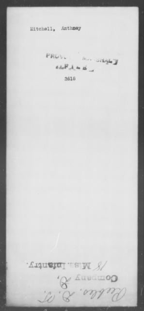 Mitchell, Anthney - State: [Blank] - Year: [Blank]