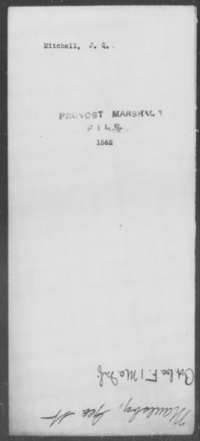 Mitchell, J Q - State: [Blank] - Year: [Blank]
