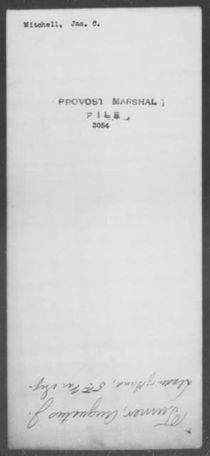 Mitchell, Jas C - State: [Blank] - Year: [Blank]
