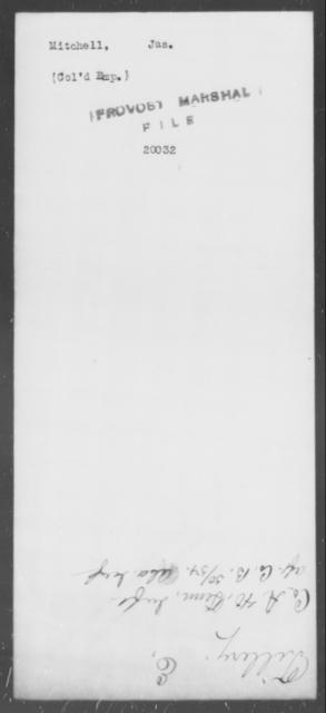 Mitchell, Jas - State: [Blank] - Year: [Blank]