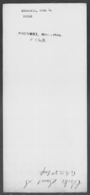 Mitchell, John Q - State: [Blank] - Year: [Blank]