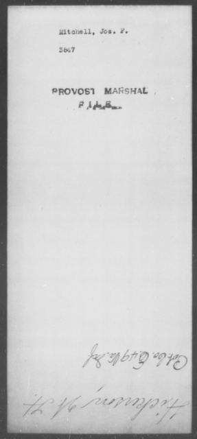 Mitchell, Jos F - State: [Blank] - Year: [Blank]