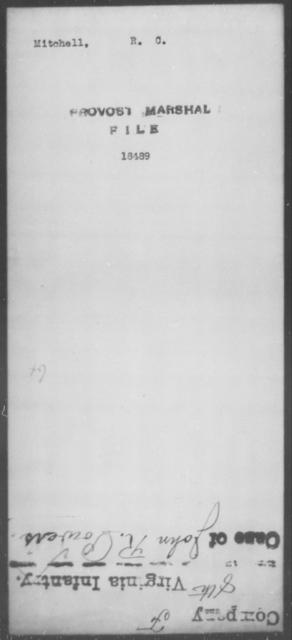 Mitchell, R C - State: [Blank] - Year: [Blank]
