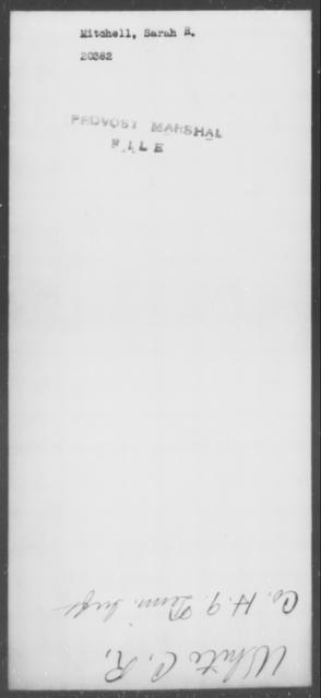Mitchell, Sarah R - State: [Blank] - Year: [Blank]